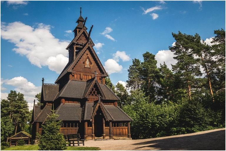 Oslo Norway Stave Church