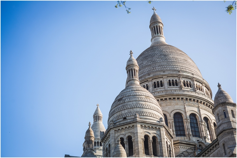 Sacre Coeur Church Paris France